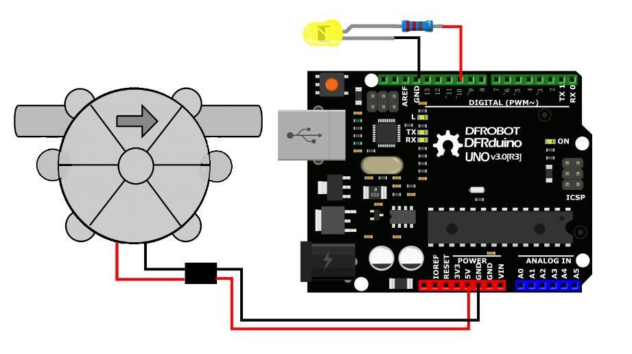 Water Turbine Generator (5VDC) - DFRobot