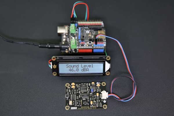 Astonishing Gravity Analog Decibel Meter Dfrobot Wiring Cloud Pendufoxcilixyz