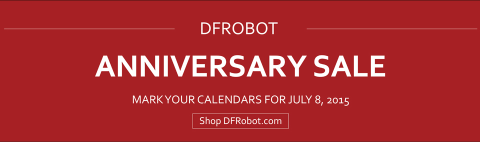 DFRobot Anniversary sale-picture